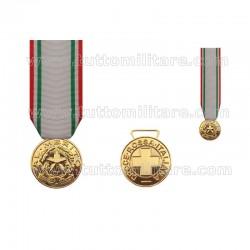 Medaglia Merito CRI Croce Rossa Italiana Oro