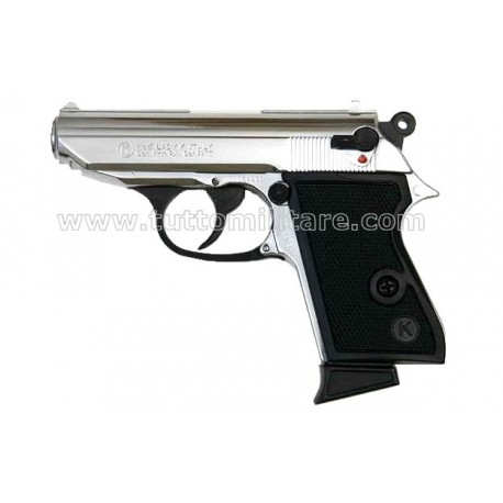 Pistola a Salve Lady-K 85 Cromata Scacciacani