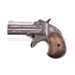 Pistola a Salve Derringer Silver 6 mm. Scacciacani