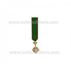 Miniatura Gala Cavaliere Ordine della Repubblica Vecchio Modello