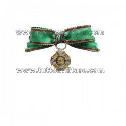 Fiocco di Nastrino Cavaliere Ordine Repubblica