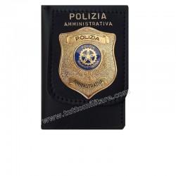 Portafogli Polizia Aministrativa