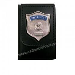 Portafogli Polizia di Stato con Placca a Clip