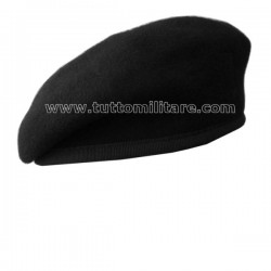 Basco Esercito Carabinieri Nero Modello Spagnolo