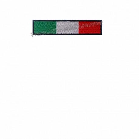 Toppa Italia Rettangolare Termoadesiva