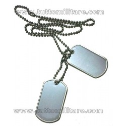 Medagliette Militari US-DOG TAGS