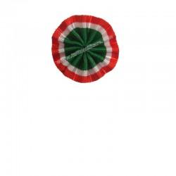 Coccarda Tricolore Italia 3 cm. da Occhiello Abito Civile