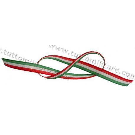Nastro Tricolore Italia 10 mm
