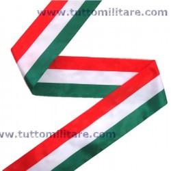 Nastro Tricolore Italia Larghezza 5 cm. per Inaugurazioni