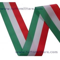 Nastro Tricolore Italia 7 cm. Larghezza