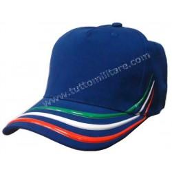 Cappellino Tricolore Italia