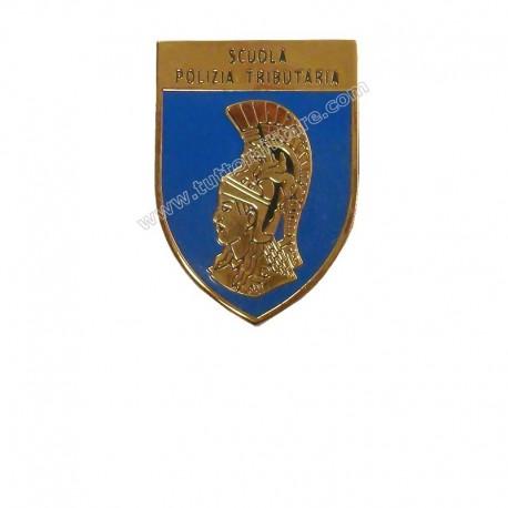Distintivo Scuola Polizia Tributaria Guardia di Finanza