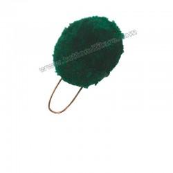 Nappina Verde per Cappello Alpino