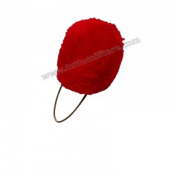 Nappina Rossa per Cappello Alpino