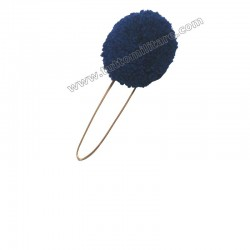 Nappina Blu per Cappello Alpino