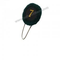 Nappina Verde con Numero 7