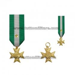 Croce Oro Anzianità Servizio 40 anni