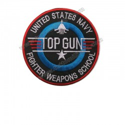 US Navy Top Gun Fighter Weapons School Patch