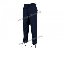 Pantaloni Militari US Blue Navy a Sei Tasche in Twill