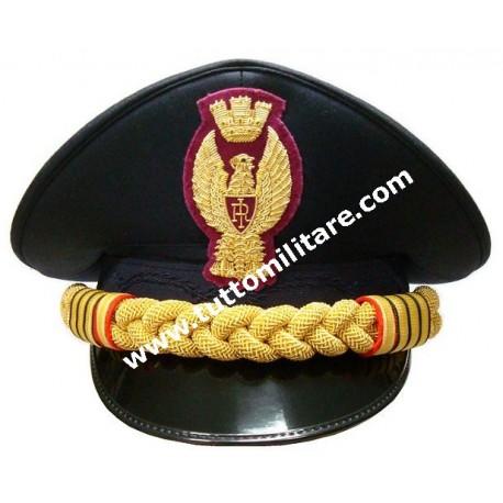 Berretto Capo della Polizia di Stato