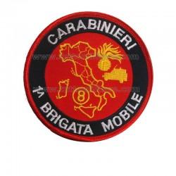 Scudetto Prima 1^ Brigata Mobile 8° Rgt. Lazio Carabinieri