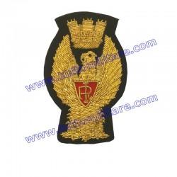 Fregio in Canutiglia Oro Polizia di Stato