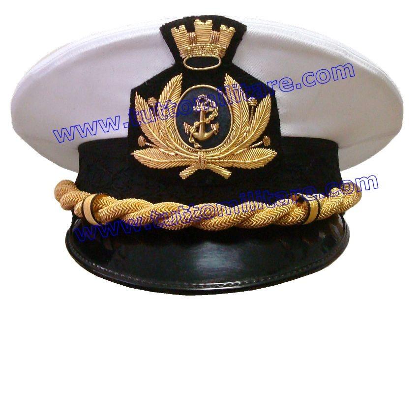 Berretto Capitano di Corvetta Marina Militare 22548fb3c675