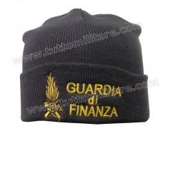 Cuffia Lana Guardia di Finanza