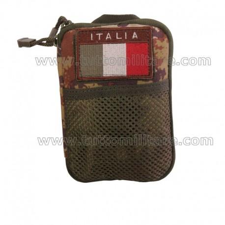 Borsina M16 Portadocumenti portapenne e Bloc Notes Vegetato