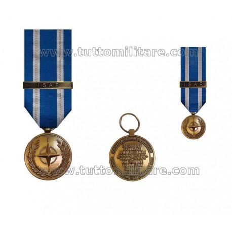 Medaglia ISAF Nato