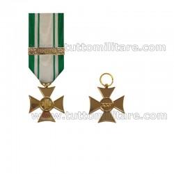 Croce Anzianità Servizio 25 Anni Personale Civile e Volontario Croce Rossa Italiana