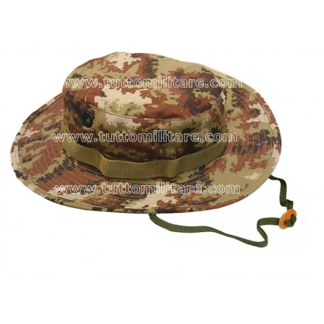 Cappello Jungle Vegetato Esercito Italiano Pixel