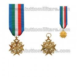 Croce Anzianità Servizio Polizia di Stato 35 Anni Oro