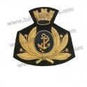 Fregio Marina Militare Berretto Rigido Maschile