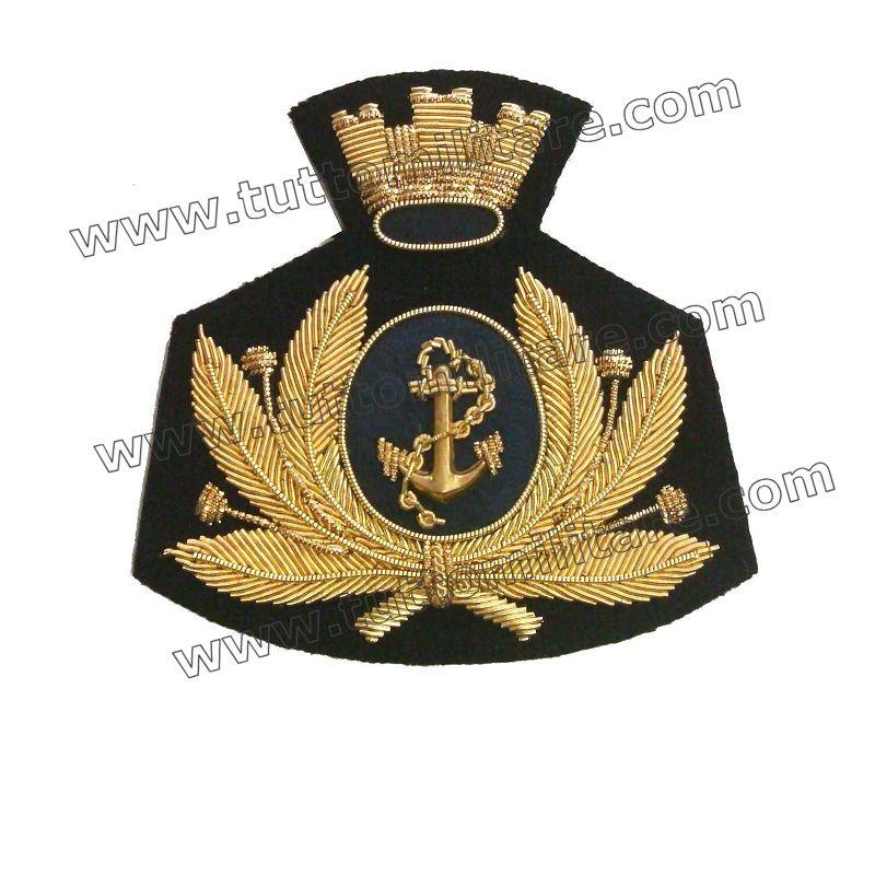 Fregio Marina Militare per Berretto Rigido Maschile 12cbff419870