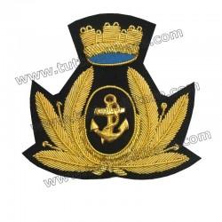 Fregio Triveneto Marina Militare per Berretto Maschile