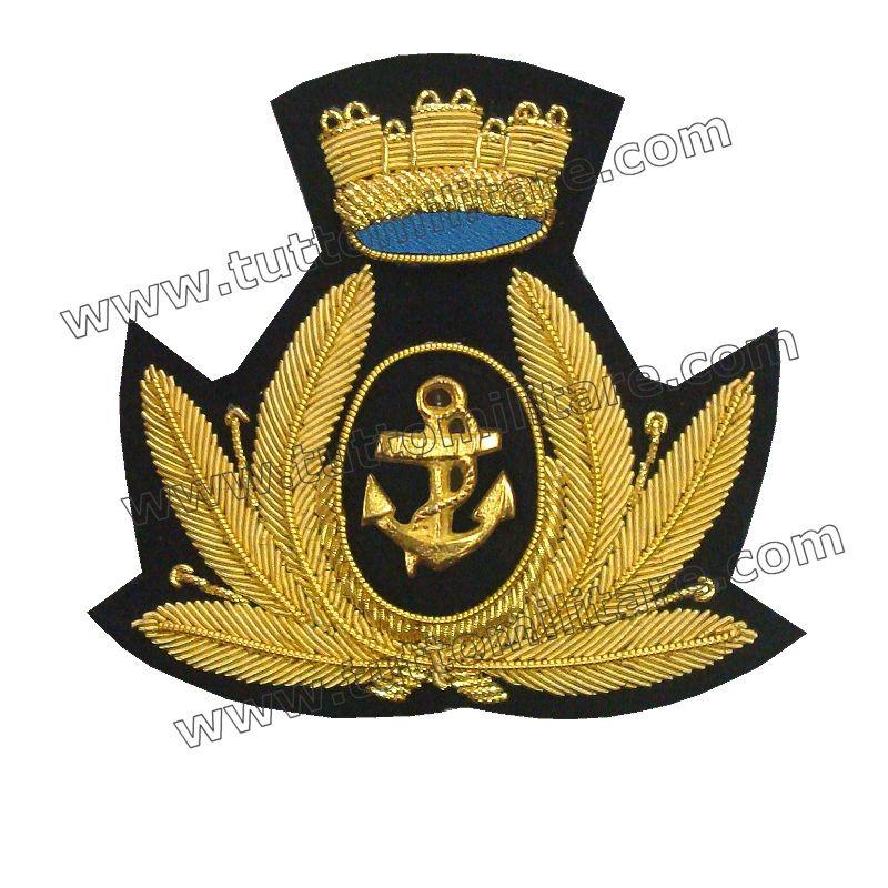 Fregio Triveneto Marina Militare per Berretto Maschile 34c098c485b8