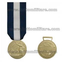 Medaglia d'Onore Lunga  Navigazione Marittima Argento 15 Anni