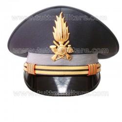 Berretto Maresciallo Aiutante Guardia di Finanza
