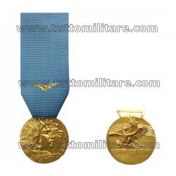 Medaglia Lunga Navigazione Aerea 20 Anni Oro