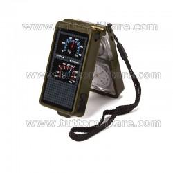 Bussola Survival con Termometro Igrometro Acciarino