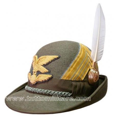 Cappello Alpino Colonnello Battaglione Logistico