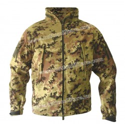 Soft Shell Vegetato Giubbino Windstopper Waterproof