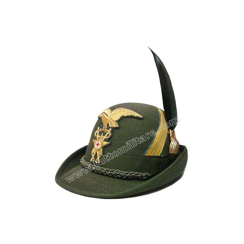 Cappello Alpino Tenente Medico Alpini 7f362d6e58e6