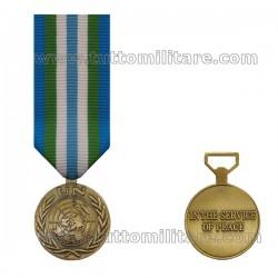 Medaglia Minustah ONU Haiti
