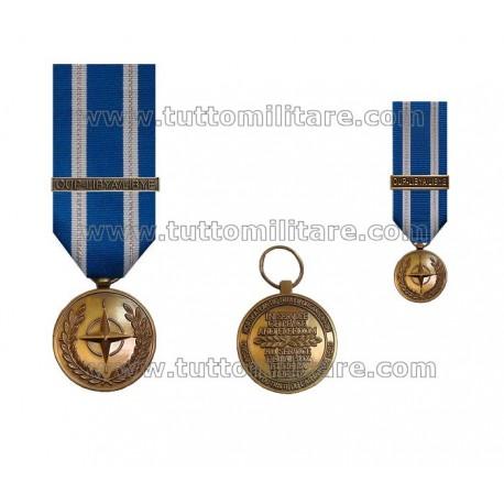 Medaglia Unified Protector Libya NATO Non Article 5