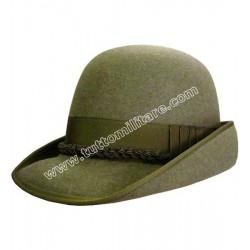 Cappello Alpino in Feltro di Coniglio