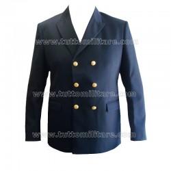 Giacca Doppio Petto Blu Marina Militare