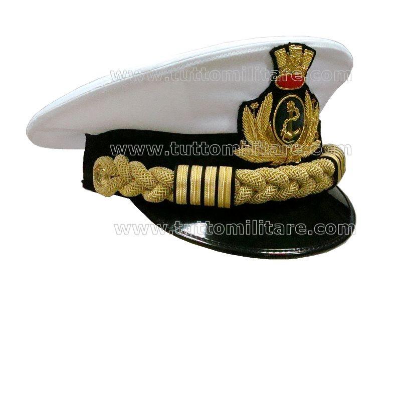 Berretto Capo di Stato Maggiore Marina Militare b772874e5dfd