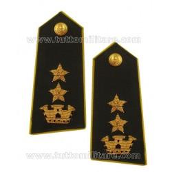 Gradi Ricamati per Controspalline rigide da Uniforme Tenente Colonnello Guardia di Finanza